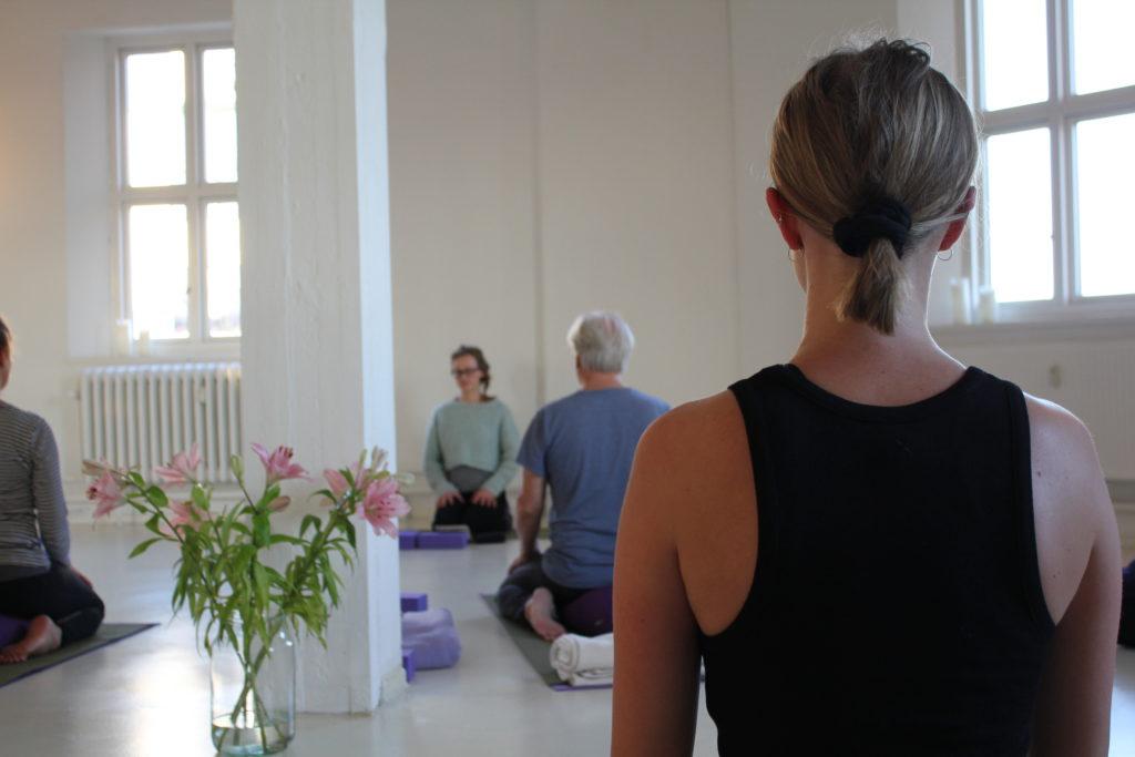 Yogahold på Amager